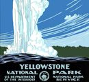 Yellowstone Natl Park poster 1938